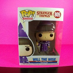 stranger things will the wise funko pop